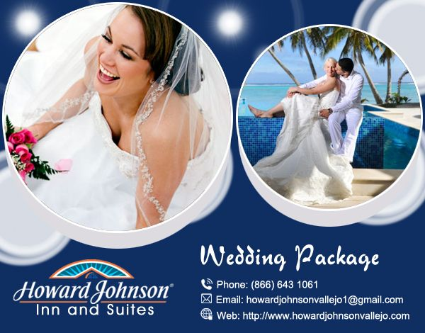 Howard Johnson Vallejo offer best #Wedding_Packages with intimate Benicia Room, fascinating pool subject, with its stunning gazebo is a excellent situation to your ceremonial dinner. http://www.howardjohnsonvallejo.com/