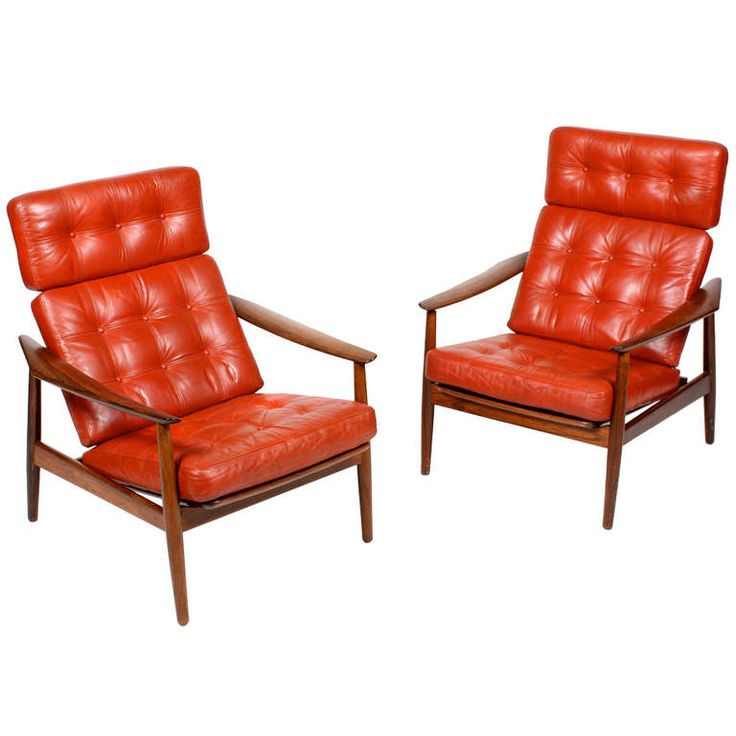 Pair of Easy Chairs by Arne Vodder - 22 Best Antique Club Chairs Images On Pinterest Club Chairs