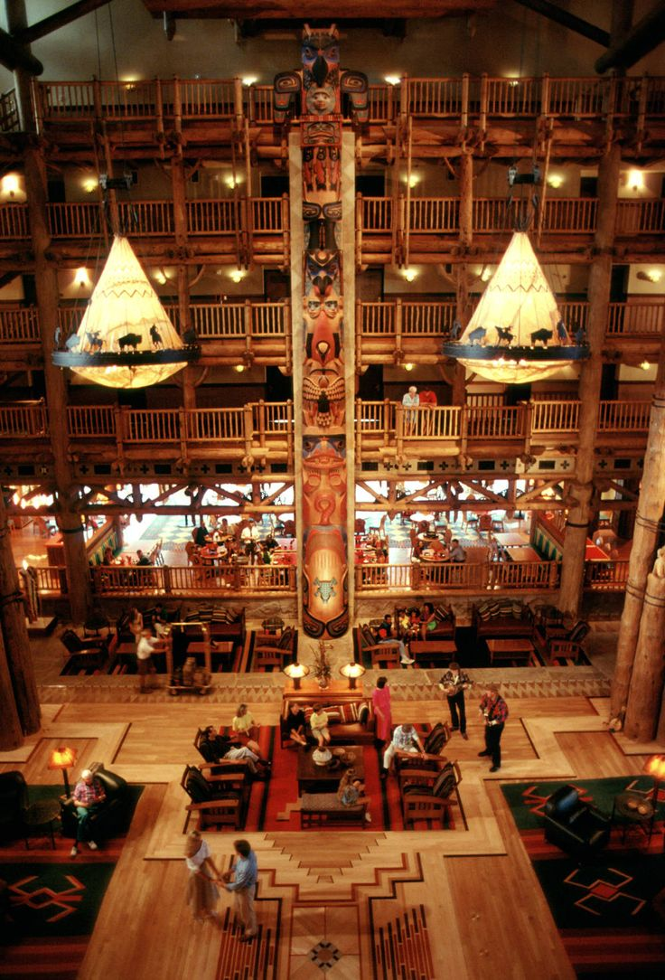 Wilderness Lodge at Disney World, Orlando. I can't wait to stay here soon. ;)