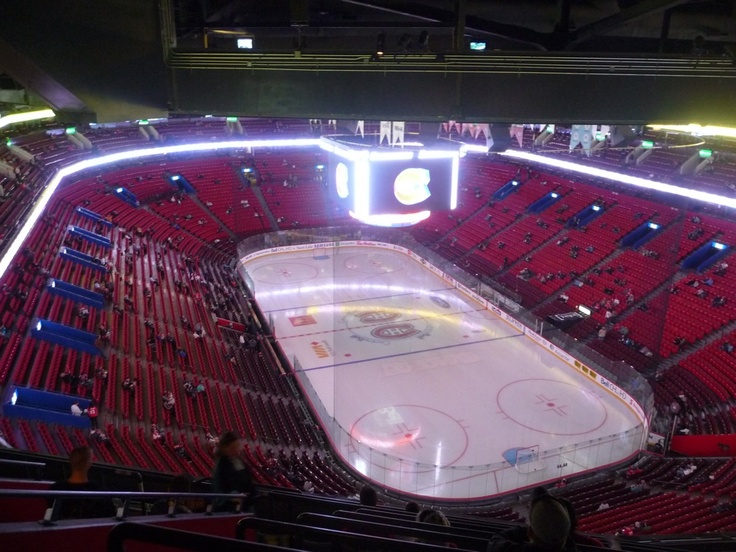 Montreal Bell Center... the hockey temple