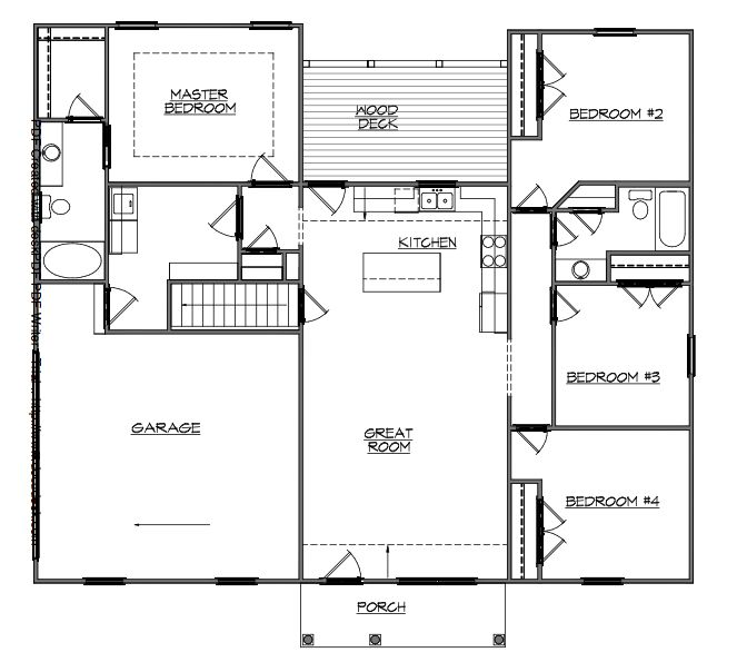 Basement apartment floor plans basement entry floor plans for Home plans with basement floor plans