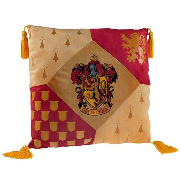 Wizarding World of Harry Potter Gryffindor Crest Pillow Universal Studios | eBay