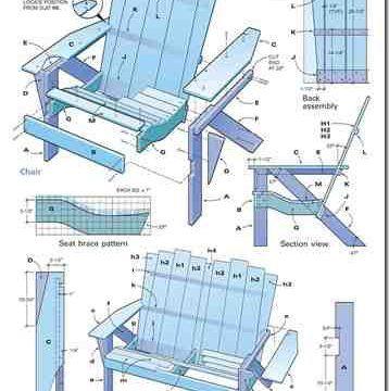 Modern Adirondack Chair Plans -