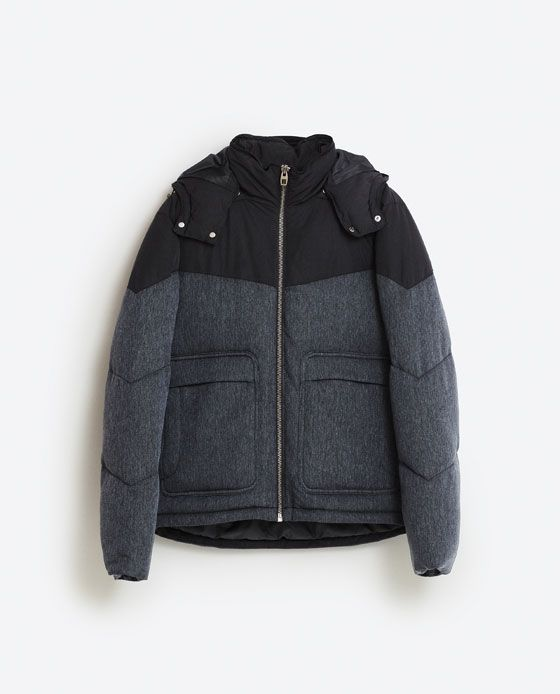 Image 8 of HOODED JACKET from Zara