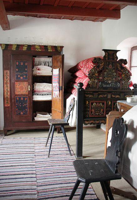 Szentendre - Szabadtéri Néprajzi Múzeum - House from Őcsény by Kotomi_, via Flickr