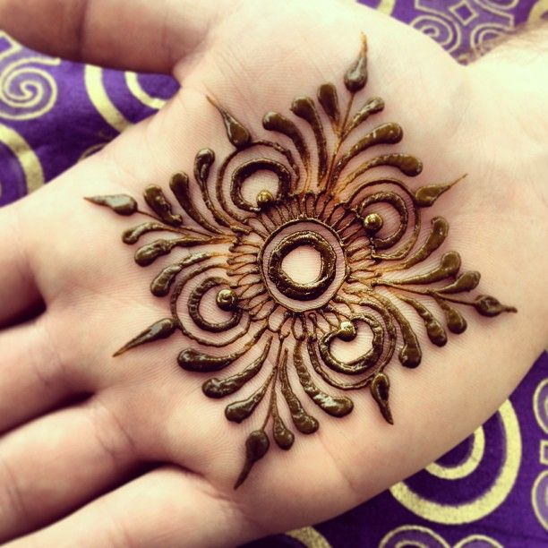 Mandala Henna Tattoo #maplemehndi