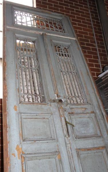 Egyptian Entrance doors Blue