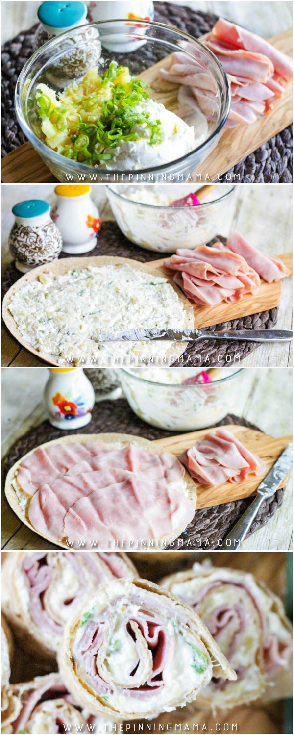Oh my goodness! The BEST APPETIZER EVER!! This is like the flavors of hawaiian pizza rolled up in a bite sized treat and is so delicious! Every time I bring these to a party they disappear before everyone even arrives. You have to try these!