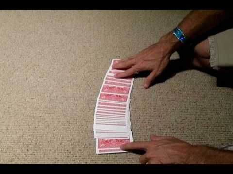 Best Card Trick In The World! - Pick any card becomes blue back. Do again, blue card becomes new pick