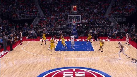 Detroit Pistons guard Reggie Jackson sprains ankle will undergo MRI