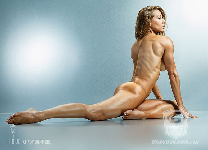 Bodies of Work Vol. 3 Chady Dunmore is a FitMiss spokesmodel, fitness model, and two-time Pro Bikini world champion.