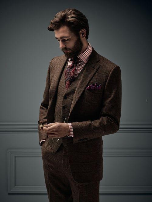 Paul Stuart - F/W 2014/2015   No:32558   MENS FASHION STYLE NET: Men's Style Guide Tips And Men's Fashion