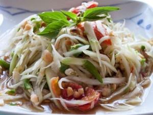 Recipe For  Thai Green Papaya Salad:som tam