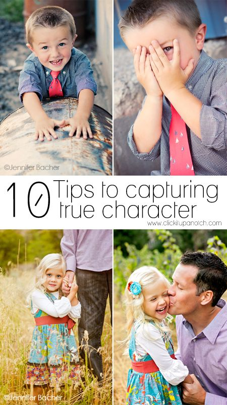 10 tips to capturing true character