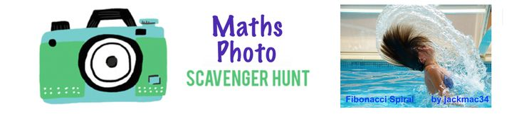 MATH IS SCARY!! TRY A MATH Photo Scavenger Hunt