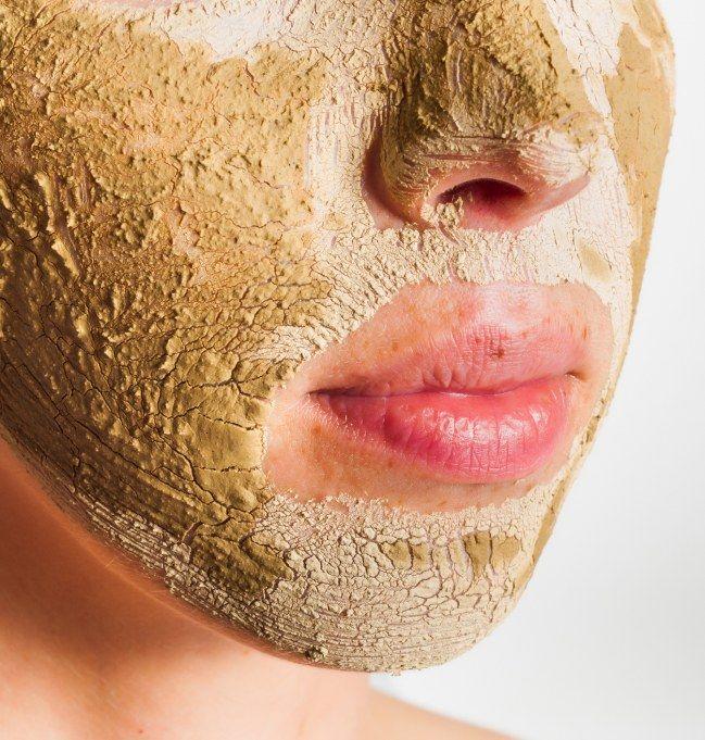 masque noir visage anti point noir
