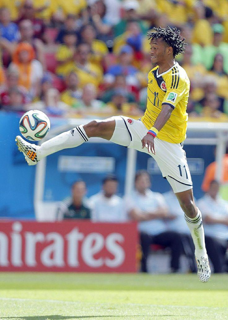 Cuadrado, uno de los mejores jugadores colombianos