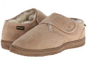 Old Friend Adjustable Closure Bootie (Chesnut) Men's Slippers