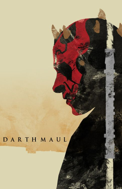 Darth Maul- my fav character of the new trilogy
