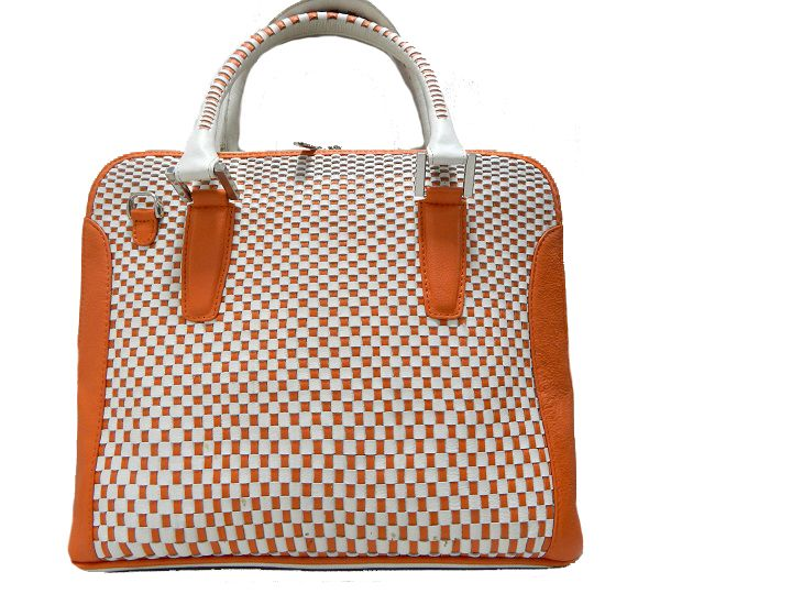 Bright and appealing, this weaving handbag from #Refashion will help you make a distinct style statement wherever you go