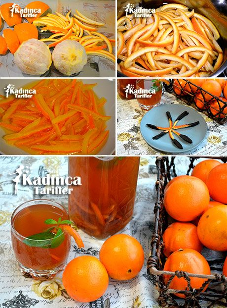 Portakallı Buzlu Çay Tarifi