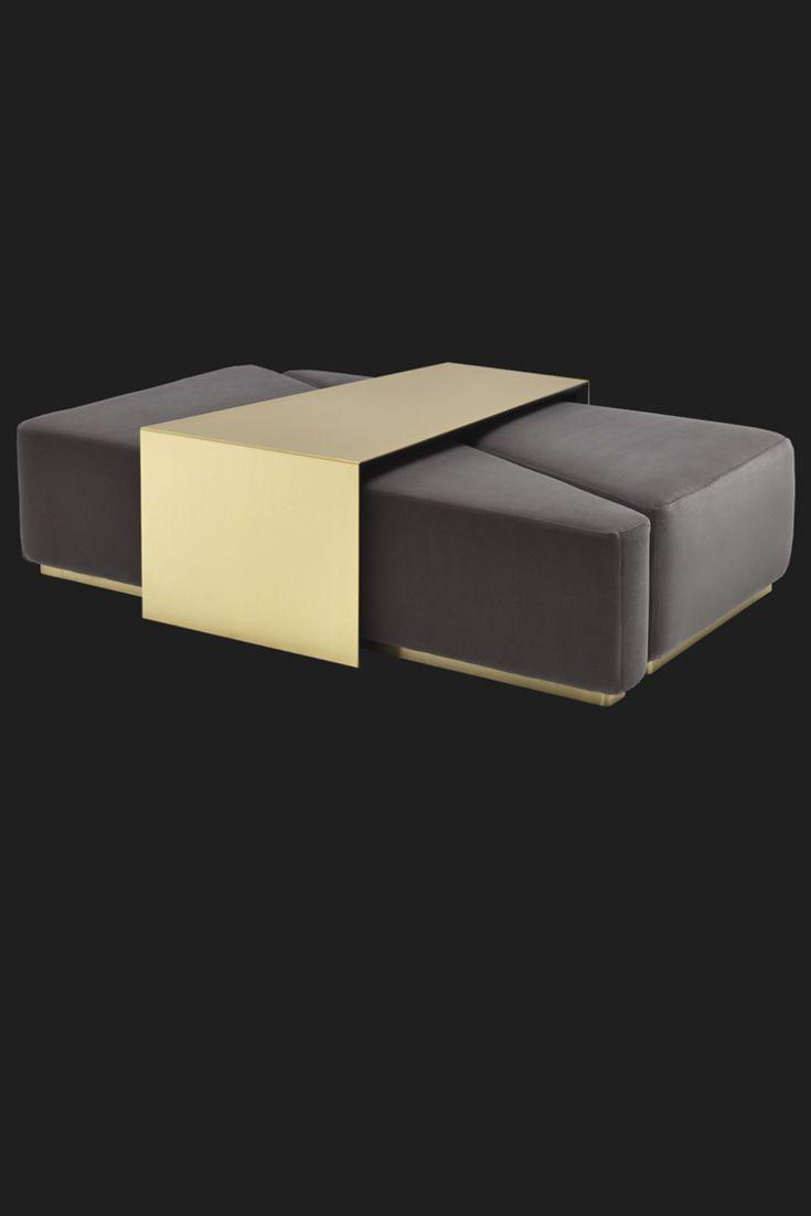 - Luxury Contemporary Italian Designer Modular Coffee Table