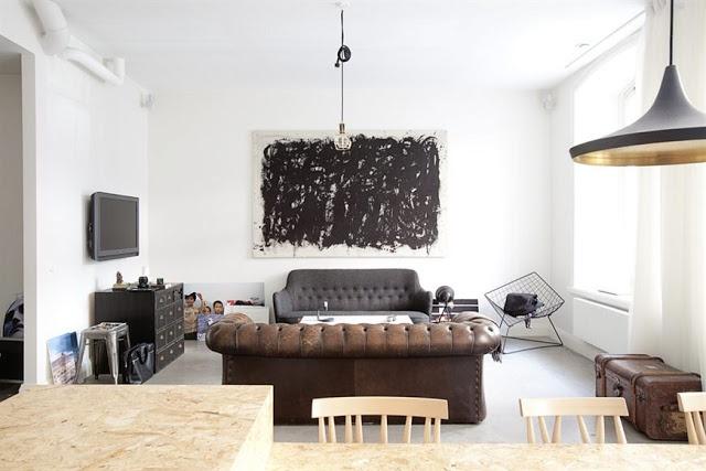 Stockholm apartment. Alexander White.