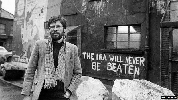 Gerry Adams: Profile of Sinn Féin leader - BBC News