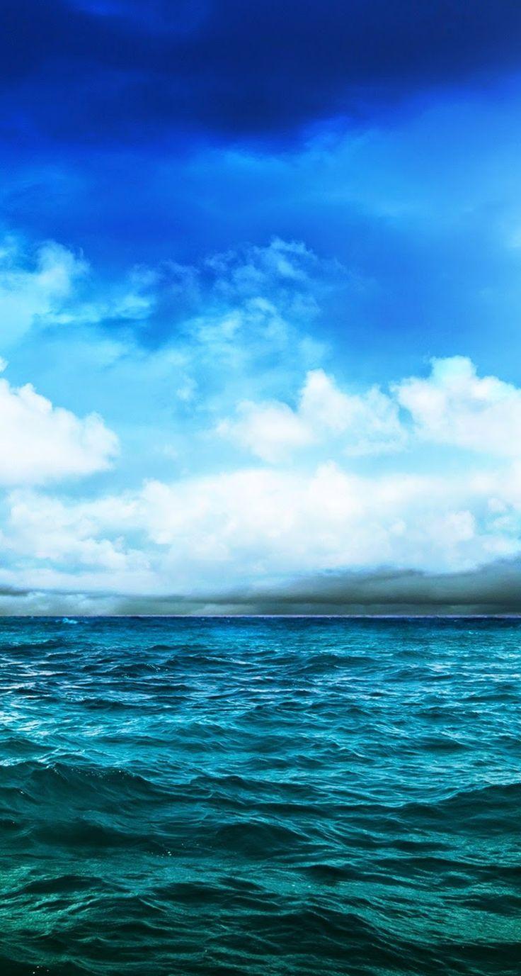 обои на айфон море - Pesquisa Google | Пейзажи, Фоновые ...