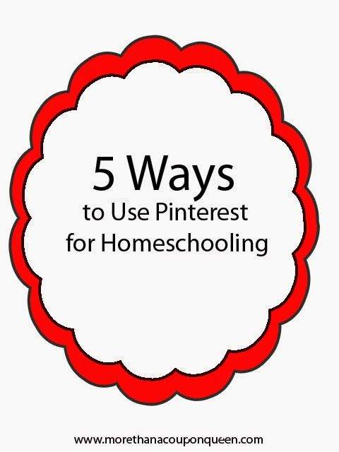 258 best school images on pinterest learning school and studying 5 ways to use pinterest for homeschooling fandeluxe Image collections