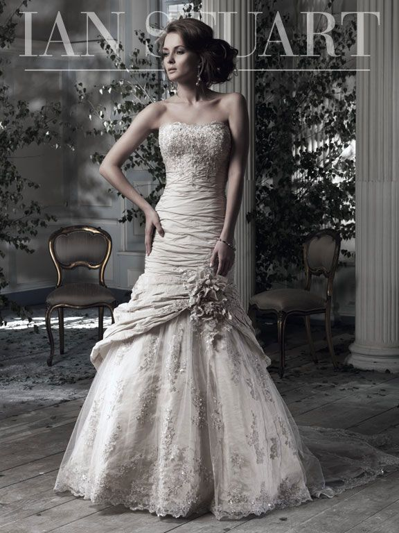 58 best Ian Stuart images on Pinterest   Short wedding gowns ...