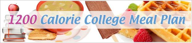 View free samples of Diet.com's 1200 Calorie College Meal Plan - perfect for cash-strapped students who want to make smart, cost-conscious diet decisions!