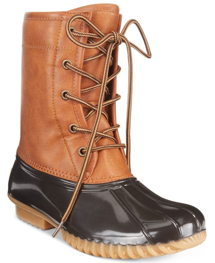 """The Original Duck Boot's Arianna boots are all about stylish protection from the elements. 