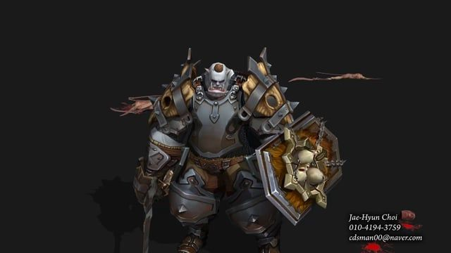 J.H Choi game animation portfolio