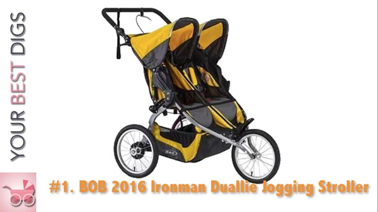Best Fixed Wheel Double Jogging Strollers – Top Five Models Reviewed!