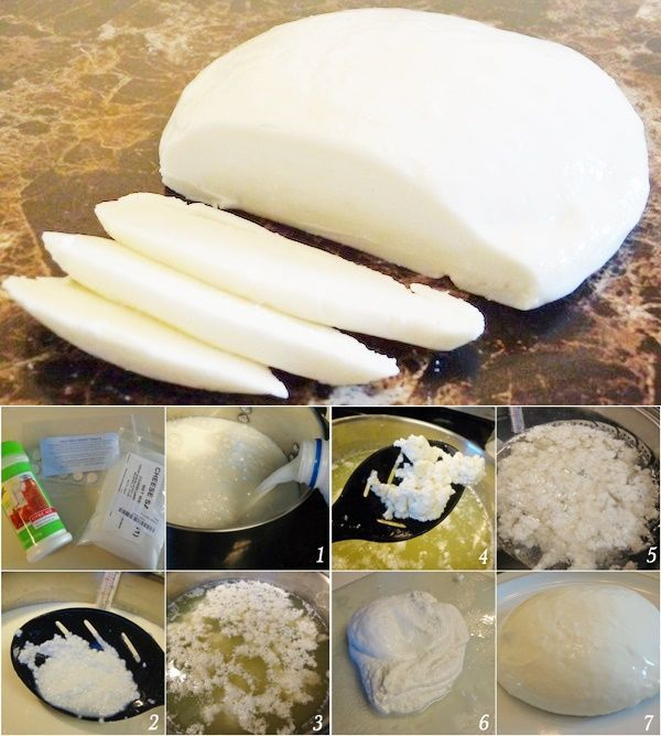"Mozzarella Cheese Made From A Gallon of Milk Recipe Homesteading  - The Homestead Survival .Com     ""Please Share This Pin"""