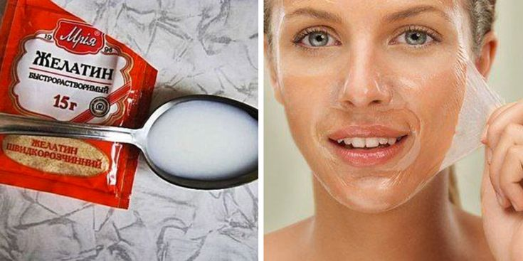 Желатин активизирует почти все метаболические процессы, происходящие на уровне кожи...