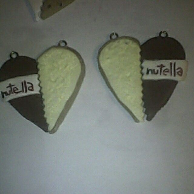 Nutella bread love polymer clay sira's creations