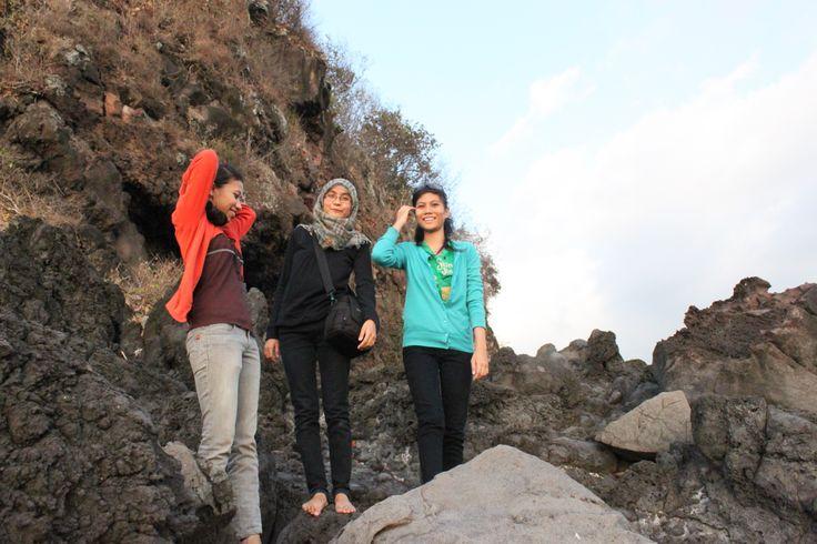 mendaki karang-lombok
