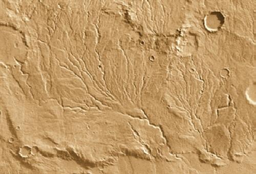 Un fleuve sur Mars