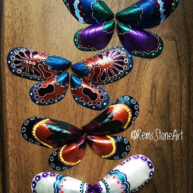 Shell butterflies