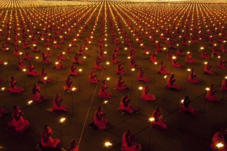 Thoughts have great powerTemples, Prayer, 100 000 Monk, 100000 Monk, Thailand, Monk Praying, Meditation, World Peace, Pictures Quotes