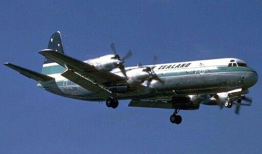 Air New Zealand, Lockheed Electra L188c