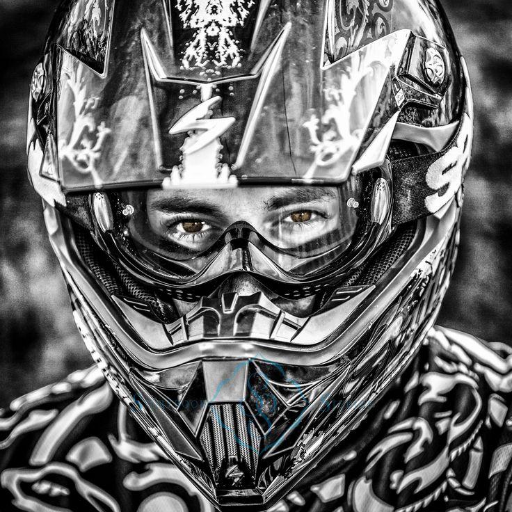 high school senior photography, motocross