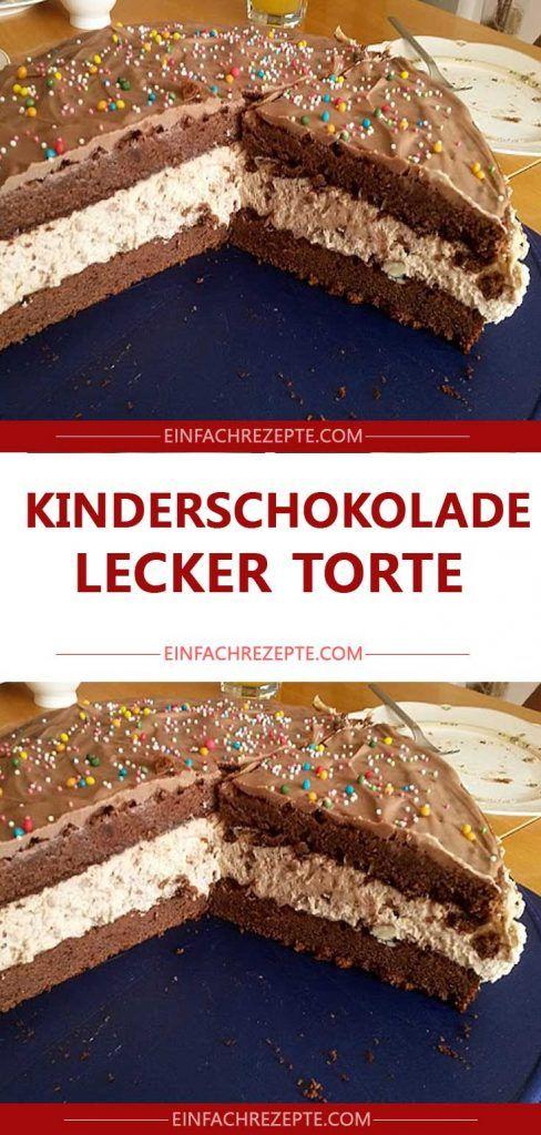 Köstlicher Kuchen der netteren Schokolade chocolate 😍 😍   – Backrezepte