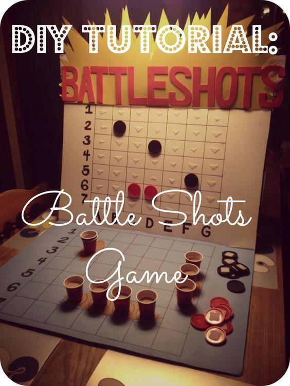 2MESSY: DIY ~ Battle Shots Drinking Game