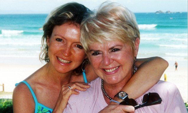 Gloria Hunniford certain that late daughter Caron is watching over her with feathers as a sign