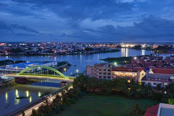 Dar un paseo por el río - Diez cosas que hacer en Phnom Penh