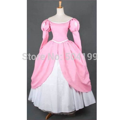Aliexpress.com : Buy Custom Made Princess Ariel Pink Dress The Little Mermaid Adult Ariel Cosplay Women Halloween Costumes Any Size from Reliable costume esther suppliers on Issac cosplay store  | Alibaba Group