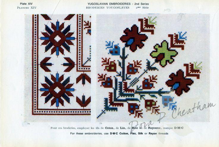 Gallery.ru / Фото #28 - Yugoslavian Embroidery - Dora2012